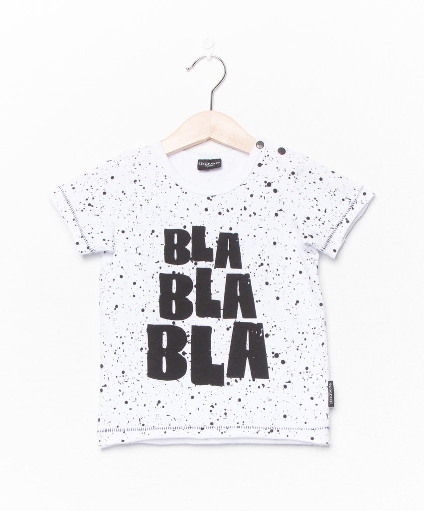 Lucky No 7 - T-shirt Bla Bla Bla