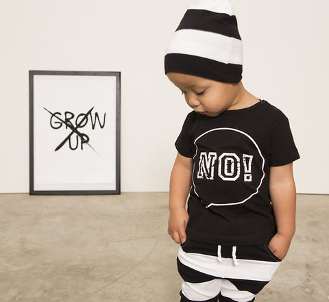No! tee by Lucky No. 7