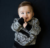 Lucky No 7 - sweatshirt Rebellious Monster - lifestyle baby