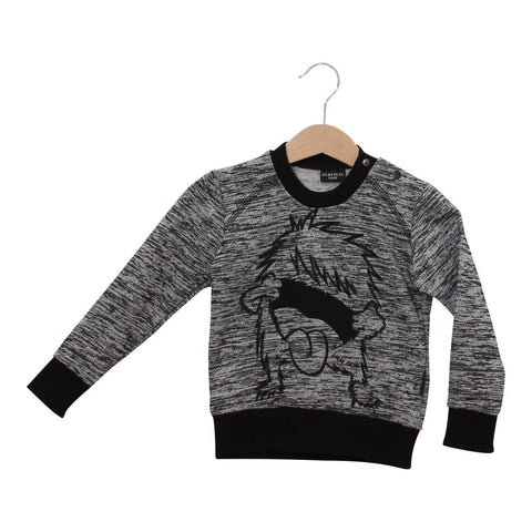 Sweatshirt Rebellious Monster by Lucky No 7