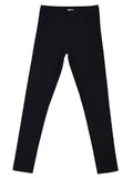 Mainio Clothing - Black basic rib leggings - front