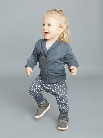 Brush baby sweatpants by Mainio Clothing - rock grey