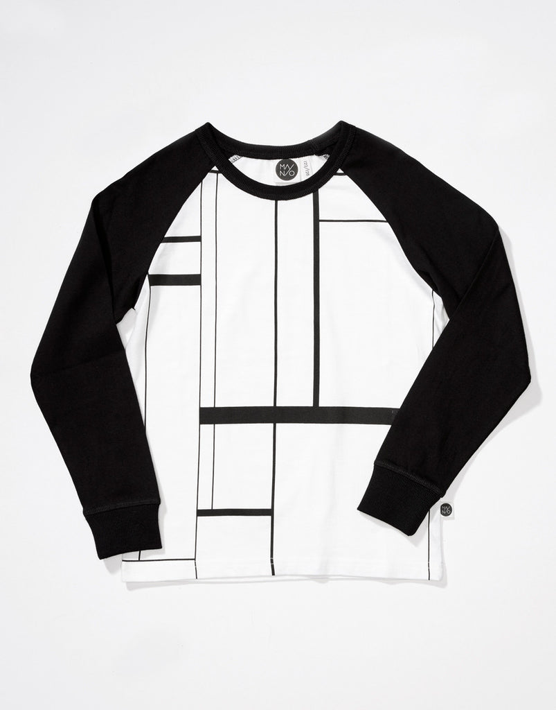 Mainio Clothing - Lines raglan tee