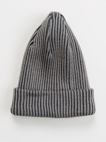 Painter beanie by Mainio Clothing - double grey