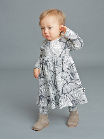Pencil baby dress by Mainio Clothing - birch