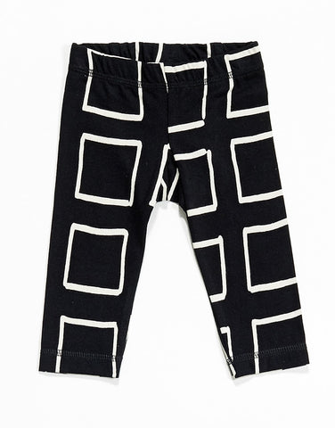 Baby leggings Frames by Mainio Clothing - black