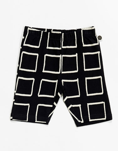 Baby shorts in washed jersey by KIK-KID - d.green