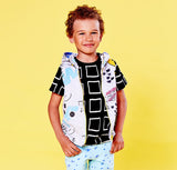 Mainio Clothing - kids sleeveless hoodie Sketchbook - lifestyle