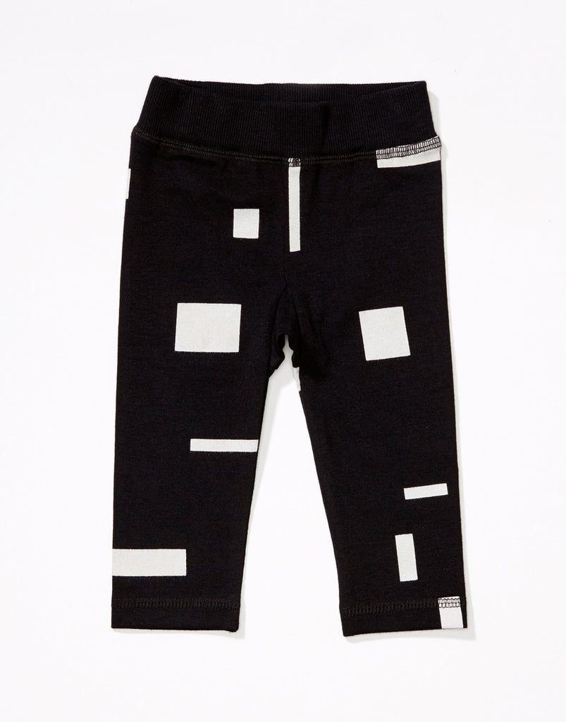 Manio Clothing - baby leggings Block