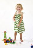 Nadadelazos - Dress Green Stripes - lifestyle