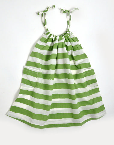 Dress Green Stripes by Nadadelazos