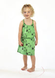 Nadadelazos - Dress Teemenii green - lifestyle