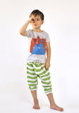 Nadadelazos - t-shirt Wrestler & sarouel pants Stripes