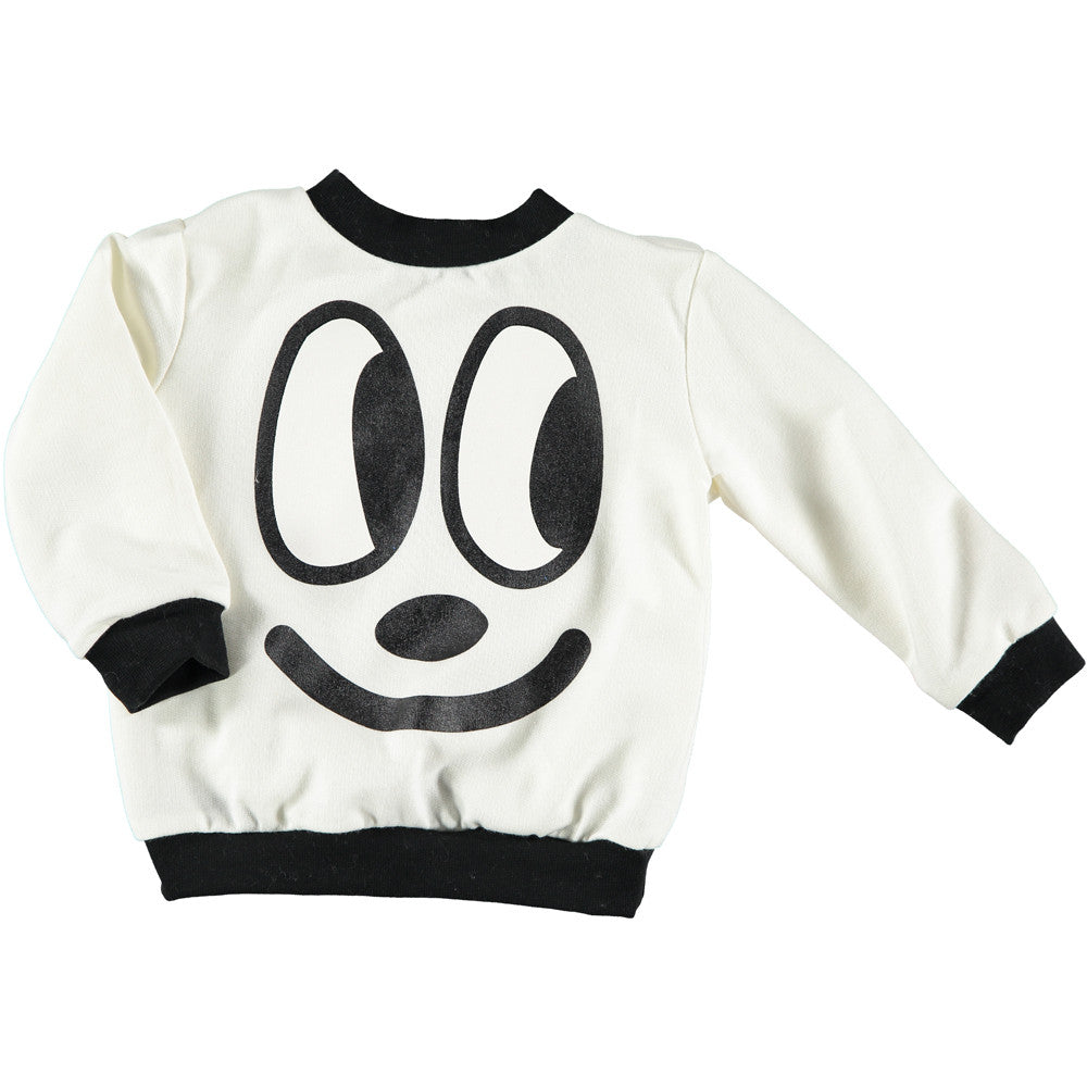 Nobodinoz - Baby sweatshirt Happy