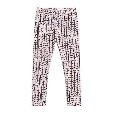 Kids leggings Black Wave by Noé & Zoë