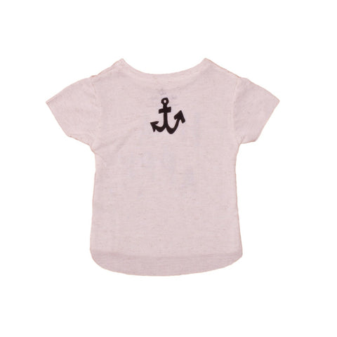 Baby tee Happy by Noé & Zoë - off white