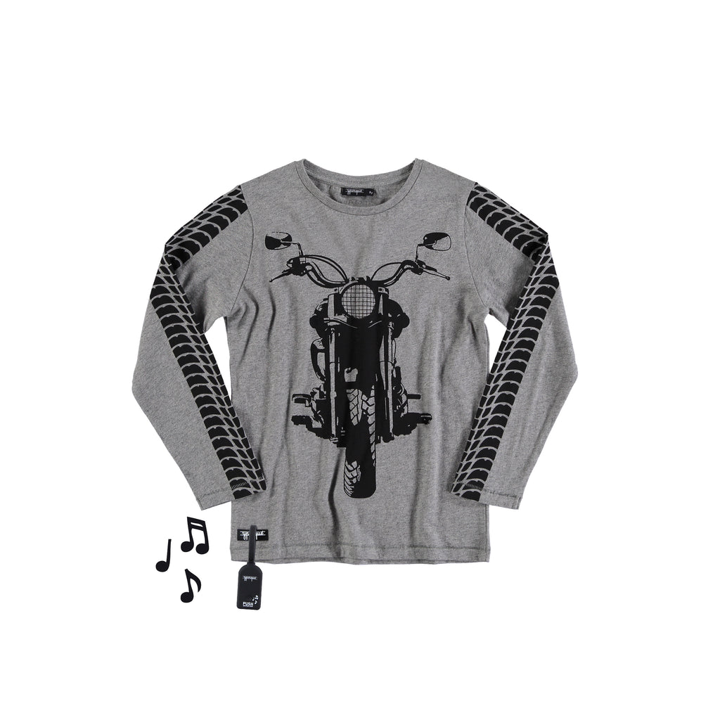 Off-Road Bike Tee Melange