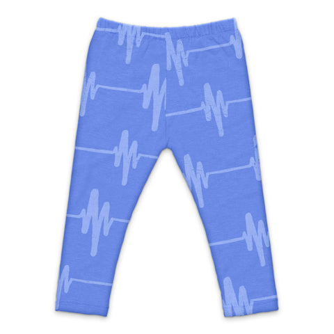 Leggings Gimme a Beat by Sweet Luka Mo - Peri blue