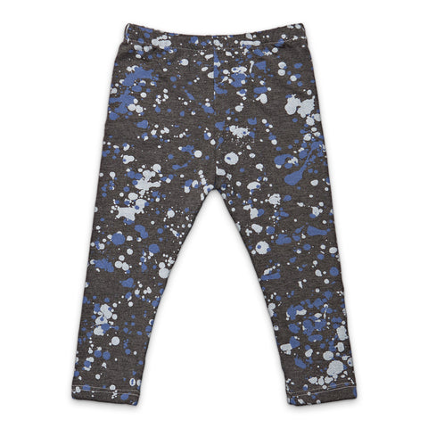 Leggings Splatter by Sweet Luka Mo - Charcoal grey
