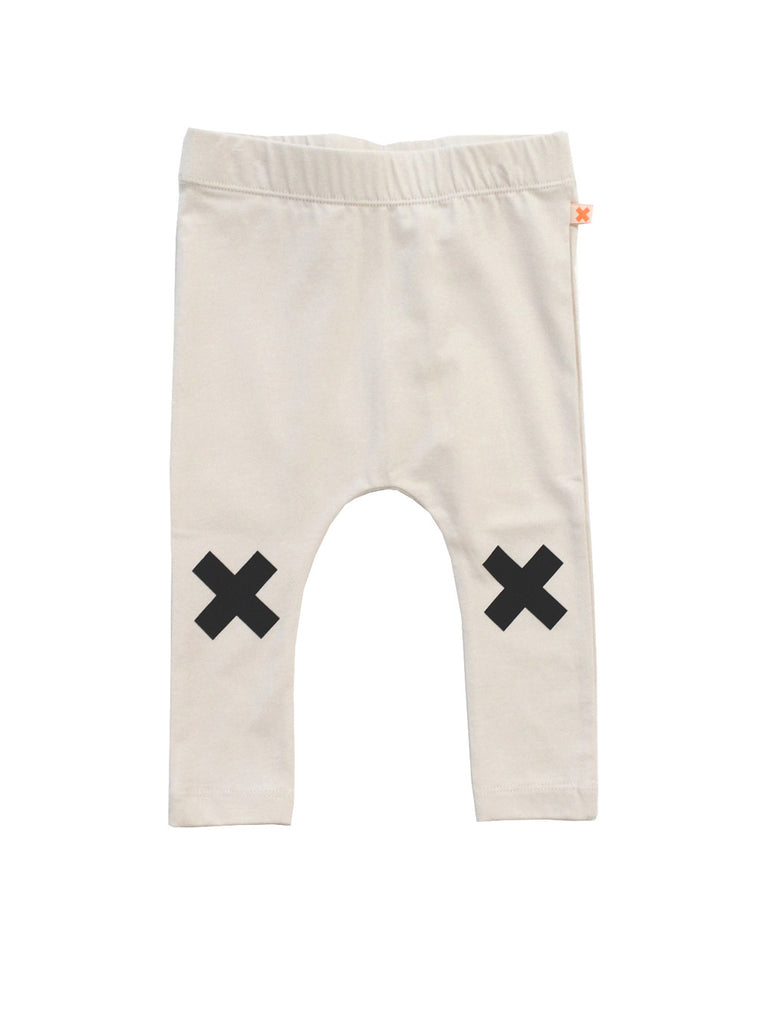 Tinycottons - Baby pants Logo - beige