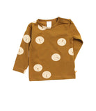 Tinycottons - Baby tee Faces - brown-beige