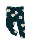 Tinycottons - pants Faces - navy-beige