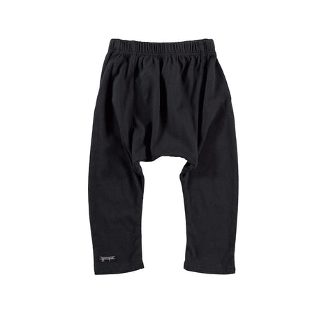 Little Black Baggy pants by Lucky No. 7