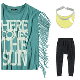 Yporqué - Fringed Tee - outfit