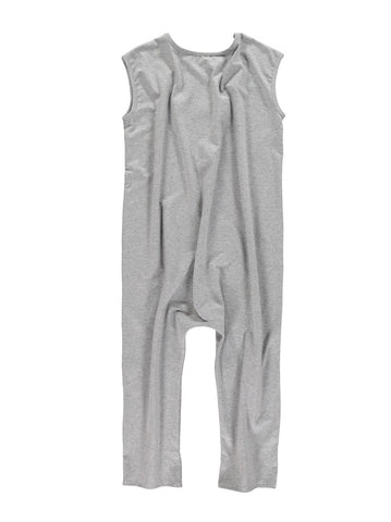 Oversized overall by Yporqué - grey melange