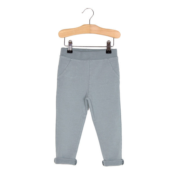 lotiekids: washed grey pants with vintage effect