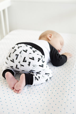 Lucky baby pants by Lucky No. 7