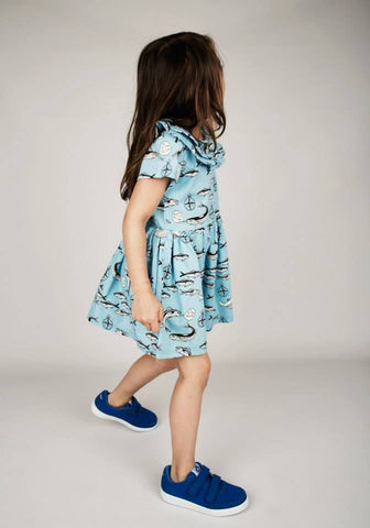 Mon Trésor dress by Mini Rodini - Lt. blue