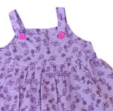 Småfolk: Baby dress with ladybirds - zoom