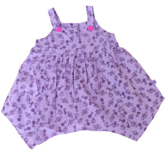 Småfolk: Baby dress with ladybirds