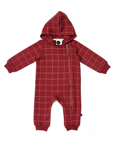 Dandy hooded jumpsuit