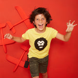 yporque - sound tee Lion - kids fashion