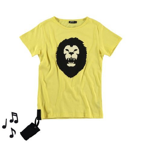 Sound tee Lion by Yporqué