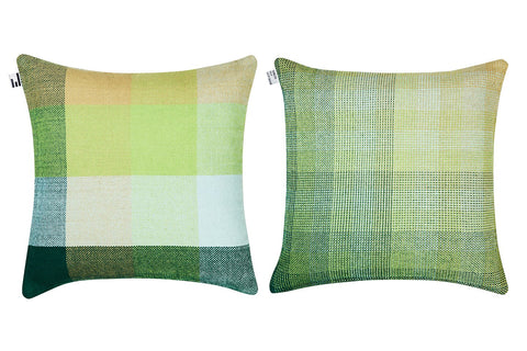 GRADIENT & SQUARES GREEN GIANT - CUSHION COVER