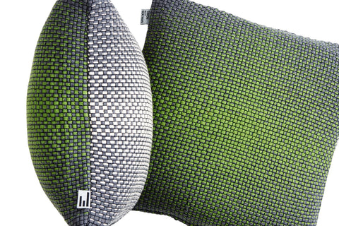 TWO SIDE GRADIENT GREEN - CUSHION COVER