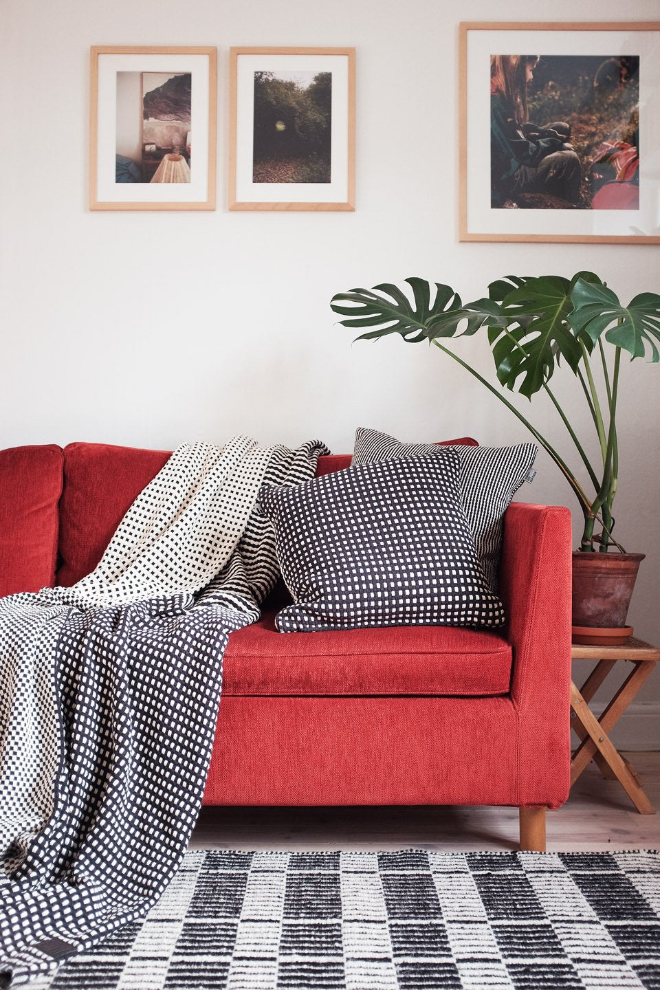 STRIPES & DOTS FINE - CUSHION COVER