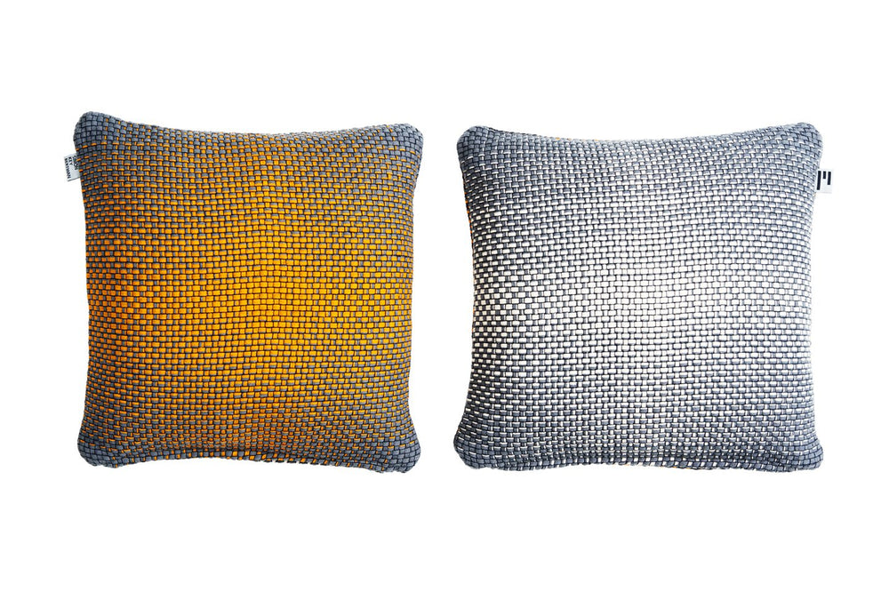 TWO SIDE GRADIENT YELLOW - CUSHION COVER
