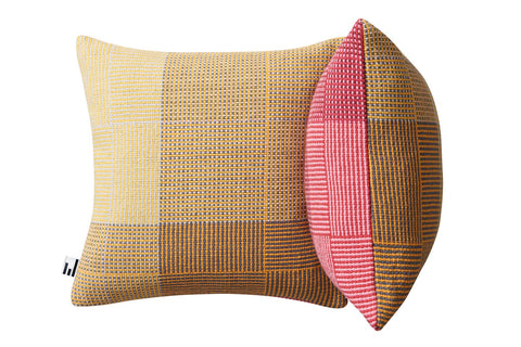 NAPPING PINK & YELLOW - CUSHION COVER