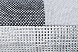 GRADIENT & SQUARES GREY - CUSHION COVER