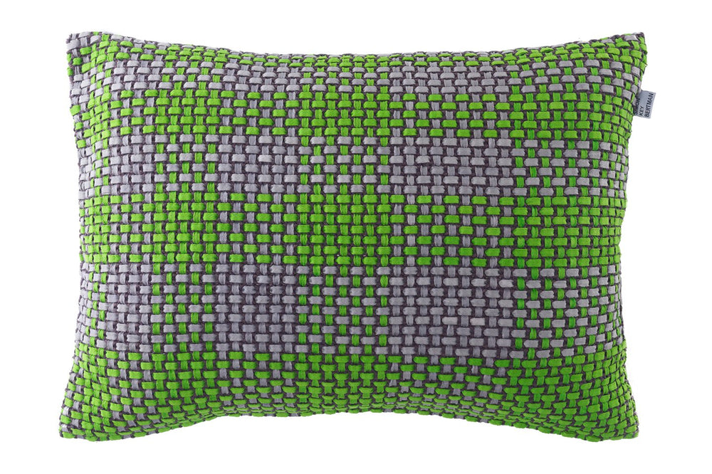 SHOELACES SNAPPY GREEN - CUSHION COVER