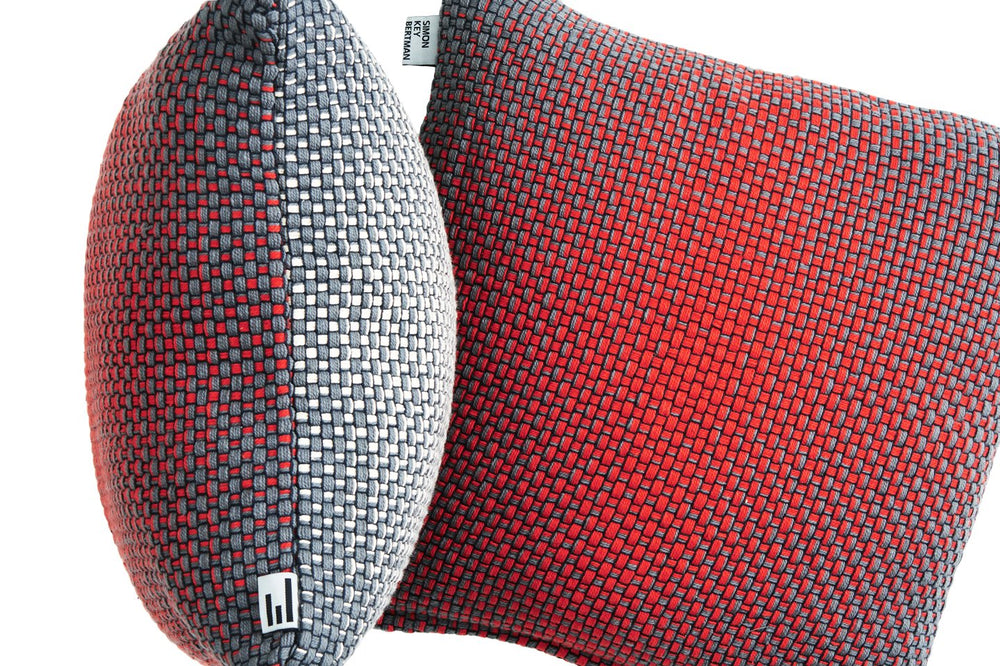 TWO SIDE GRADIENT RED - CUSHION COVER