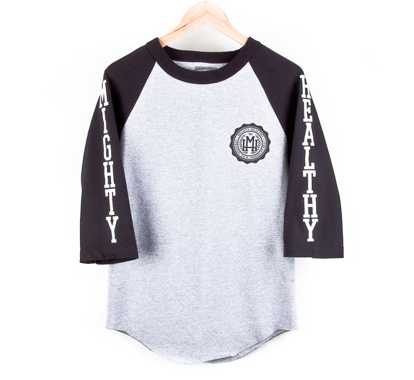 Mighty Healthy - Collegiate Raglan