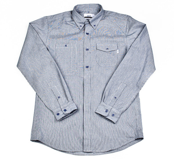 "Publish - ""Ebbetts"" Woven Button-Up"