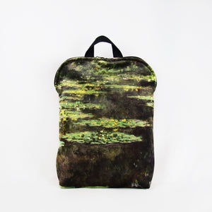"Claude Monet ""Water Lilies"" backpack"