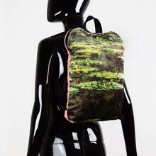 "Load image into Gallery viewer, Claude Monet ""Water Lilies"" backpack"