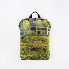 "Load image into Gallery viewer, Claude Monet ""The Water Lily Pond"" backpack"